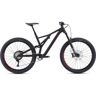 Specialized Stumpjumper Comp Alloy 27.5 2018, black/flo red - Mountainbike