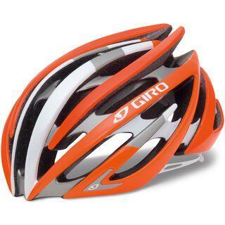 Giro Aeon, fluorescent orange/white limited - Fahrradhelm