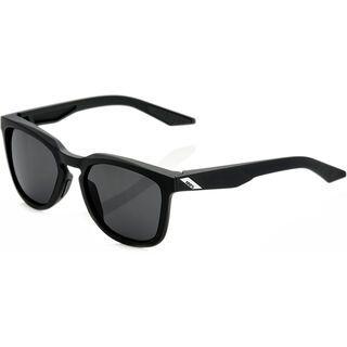 100% Hudson, soft tact black/Lens: smoke - Sonnenbrille