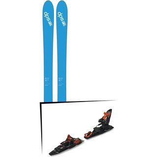 Set: DPS Skis Wailer 106 2017 + Marker Kingpin 13 Demo (2319337)