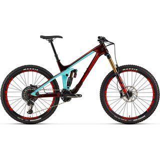 Rocky Mountain Slayer Carbon 90 2019, cranberry/indigo/black - Mountainbike