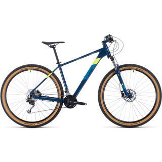 Cube Aim SL 27.5 2020, blueberry´n´flashyellow - Mountainbike