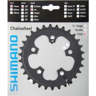 Shimano Kettenblätter 105 FC-5703 - 3x10, schwarz