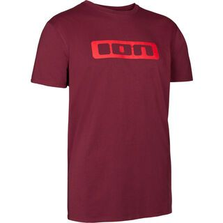 ION Tee SS Logo, combat red - T-Shirt