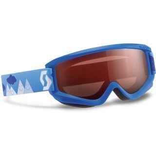 Scott Agent Junior, blue/amplifier - Skibrille