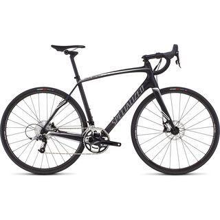 Specialized Roubaix SL4 Elite Disc 2016, carbon/charcoal/white - Rennrad