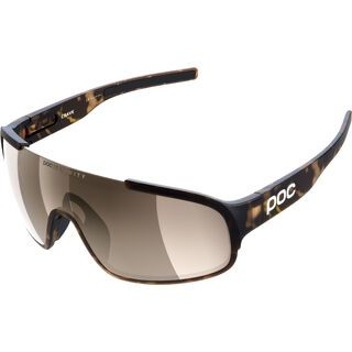 POC Crave tortoise brown/Lens: clarity silver
