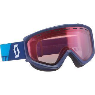 Scott Fact, eclipse blue/Lens: amplifier - Skibrille