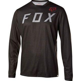 Fox Indicator LS Jersey, heather black - Radtrikot