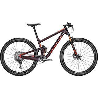 Focus Focus O1E 9.9 2020, tinted black/red - Mountainbike