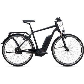 Cube Delhi Hybrid Pro 500 2017, black edition - E-Bike