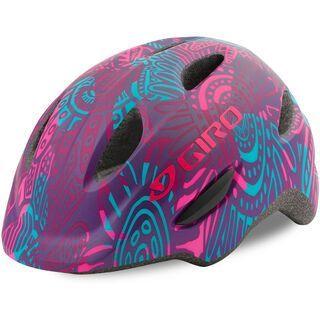 Giro Scamp, mat purple blossom - Fahrradhelm