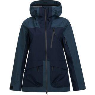 Peak Performance W Vertical 3L Jacket, blue steel - Skijacke