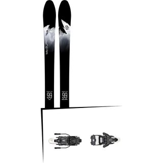Set: Icelantic Sabre 99 2018 + Atomic Shift MNC 13 black/white