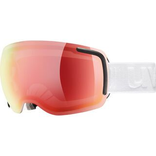 uvex big 40 VFM, white mat/Lens: mirror red - Skibrille