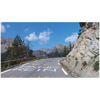 Tacx Real Life Video - Route de Grandes Alpes 1 (Frankreich) - Blu-Ray