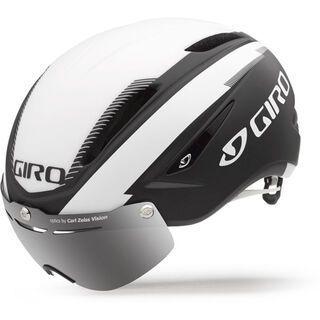 Giro Air Attack Shield, matt black/white - Fahrradhelm