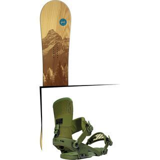 Set: goodboards Wooden 2016 + Ride Rodeo (1487155S)
