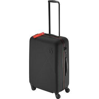 Scott Bag Travel Hardcase 70, black/red clay - Trolley