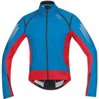 Gore Bike Wear Xenon 2.0 Windstopper Soft Shell Jacke, splash blue/red - Radjacke