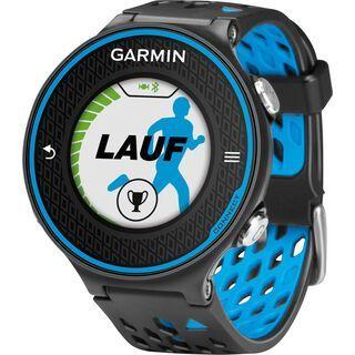 Garmin Forerunner 620 (mit Brustgurt), schwarz/blau - Sportuhr