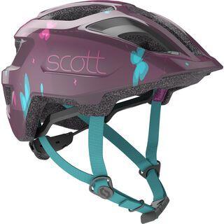 Scott Spunto Kid Helmet, deep purple - Fahrradhelm