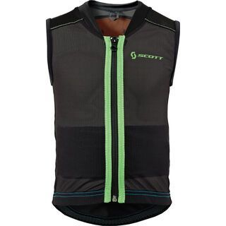 Scott Soft Actifit Junior Vest, Black/Green - Protektorenweste