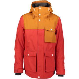 WearColour Horizon Jacket, falu red - Snowboardjacke
