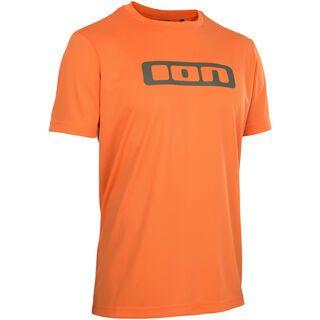 ION Tee SS Scrub AMP, riot orange - Radtrikot