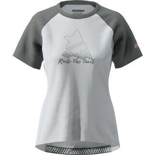 Zimtstern PureFlowz Shirt SS Women's, grey/gun metal/blush - Radtrikot