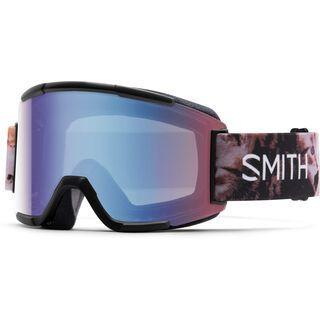 Smith Squad + Spare Lens, cattastic/blue sensor mirror - Skibrille