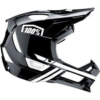 100% Trajecta, black/white - Fahrradhelm