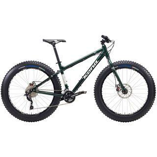 Kona Wo 2015, green/white - Mountainbike