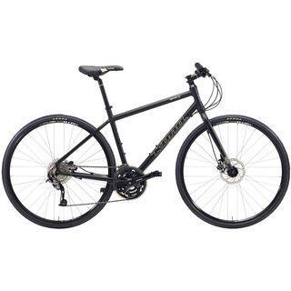 Kona Dew Plus 2015, matt black - Fitnessbike