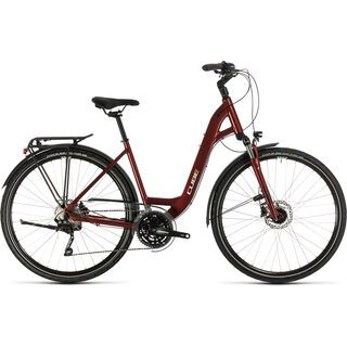 Cube Touring EXC Easy Entry 2020, red´n´grey - Trekkingrad