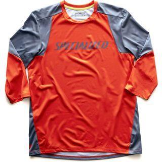 Specialized Enduro 3/4 Jersey, rocket red/storm grey - Radtrikot
