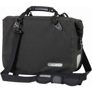 Ortlieb Office-Bag QL3 High Visibility, schwarz reflex - Fahrradtasche