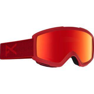 Anon Helix 2.0 Goggle + Wechselscheibe, blaze/Lens: red solex - Skibrille