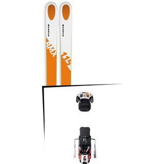 Set: Kästle BMX115 2018 + Atomic Warden MNC 13 white/black/orange