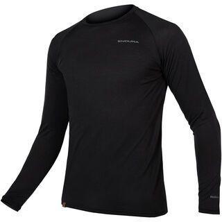 Endura BaaBaa Blend L/S Baselayer, schwarz - Unterhemd