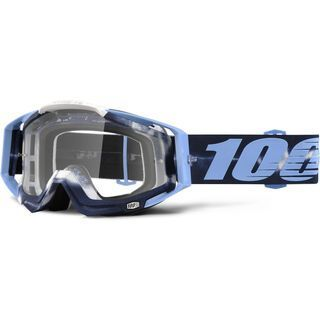 100% Racecraft Goggle, tiedye/ Lens: clear - MX Brille