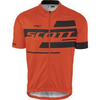 Scott RC Team 10 S/L Shirt, tangerine orange/black - Radtrikot