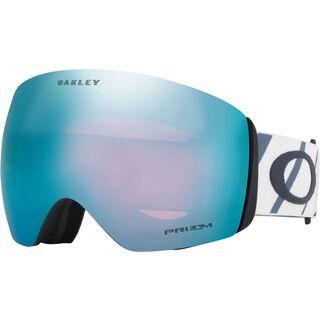 Oakley Flight Deck Prizm, hazard bar slate ice/Lens: prizm sapphire iridium - Skibrille