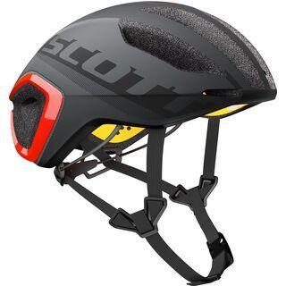 Scott Cadence Plus Helmet, dark grey/red - Fahrradhelm