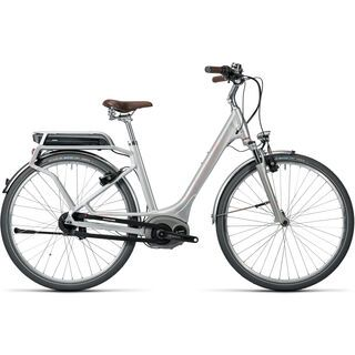 Cube Elly Cruise Hybrid 400 Easy Entry 2016, silver´n´flashred - E-Bike