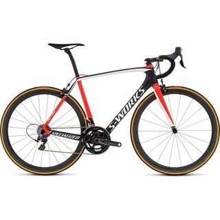 Specialized S-Works Tarmac Dura Ace 2016, carbon/red/white - Rennrad