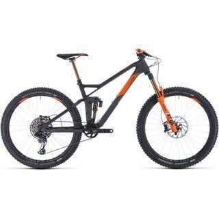 Cube Stereo 140 HPC TM 27.5 2020, grey´n´orange - Mountainbike