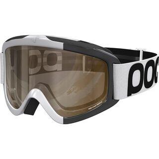 POC Iris Comp inkl. Wechselscheibe, hydrogen white/Lens: brown, clear - Skibrille