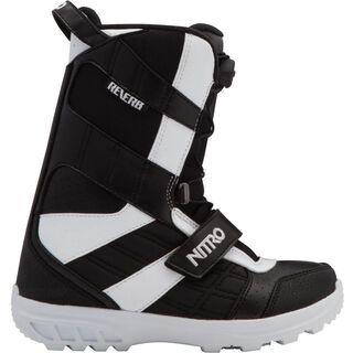 Nitro Reverb Youth QLS, white/platinum/black - Snowboardschuhe