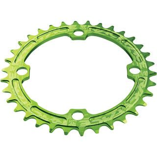 Race Face Single Ring Narrow Wide - LK 104, green - Kettenblatt
